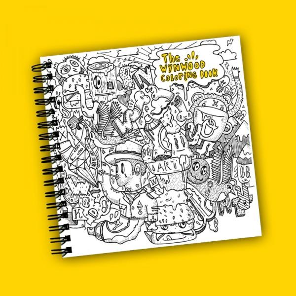 Wynwood Coloring Book, $25