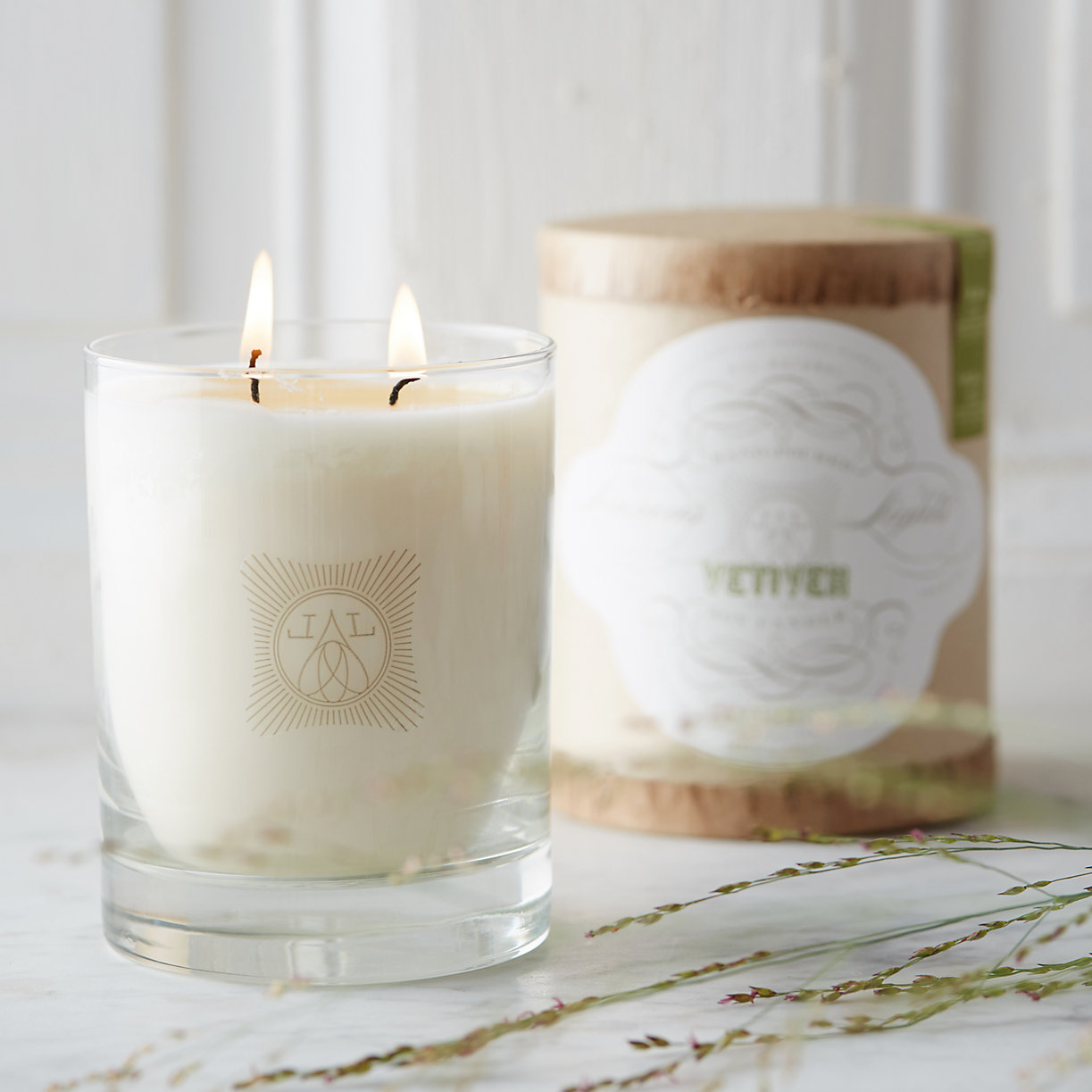 Linnea's Lights candle, Vetiver scent,$34