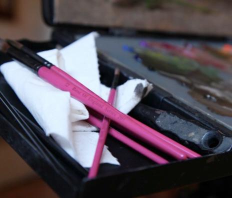 Rosemary & Co artist brushes, $24.41