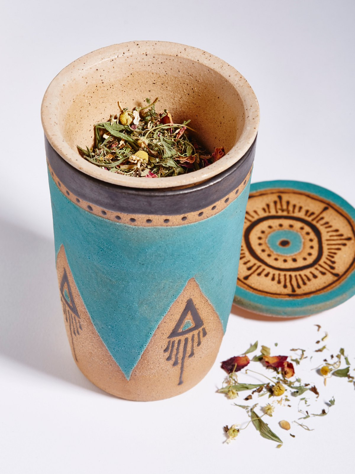 To Go Steeping Tea Mug, Victoria Smith Ceramics, Free People, $68
