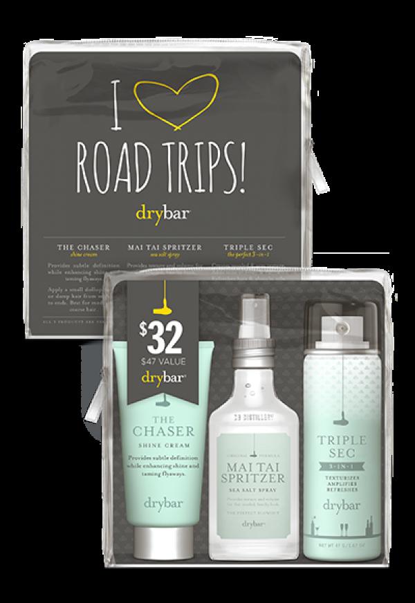Drybar travel hair product trio, $32
