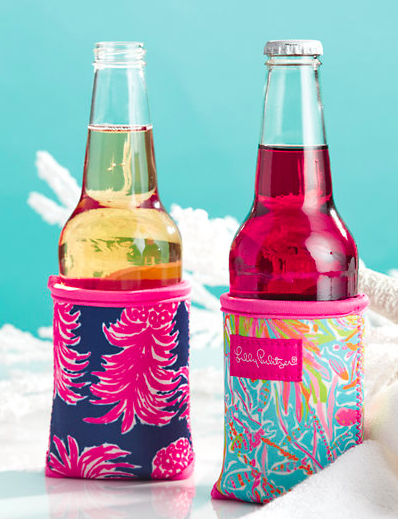 Lilly Pulitzer drink hugger set, 2 included, $12