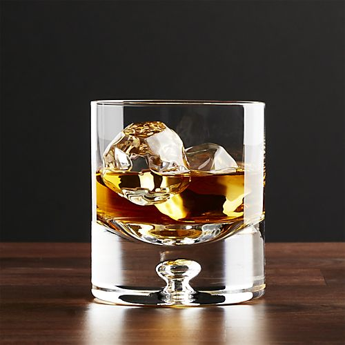 Crate and Barrel Direction 9oz Double Old Fashion glasses, sold individually, $9.95