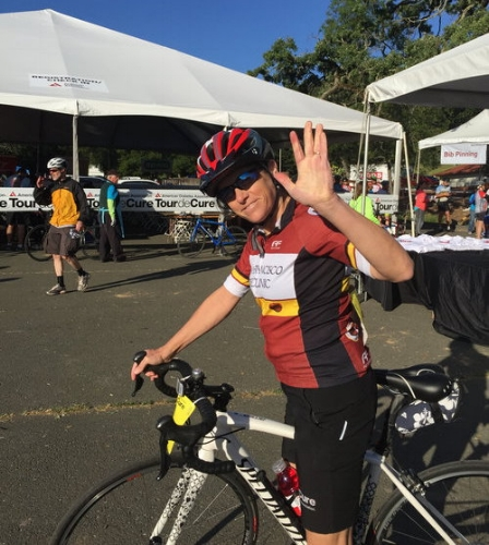 Dr. tricia gibbs gets ready for 50 miles