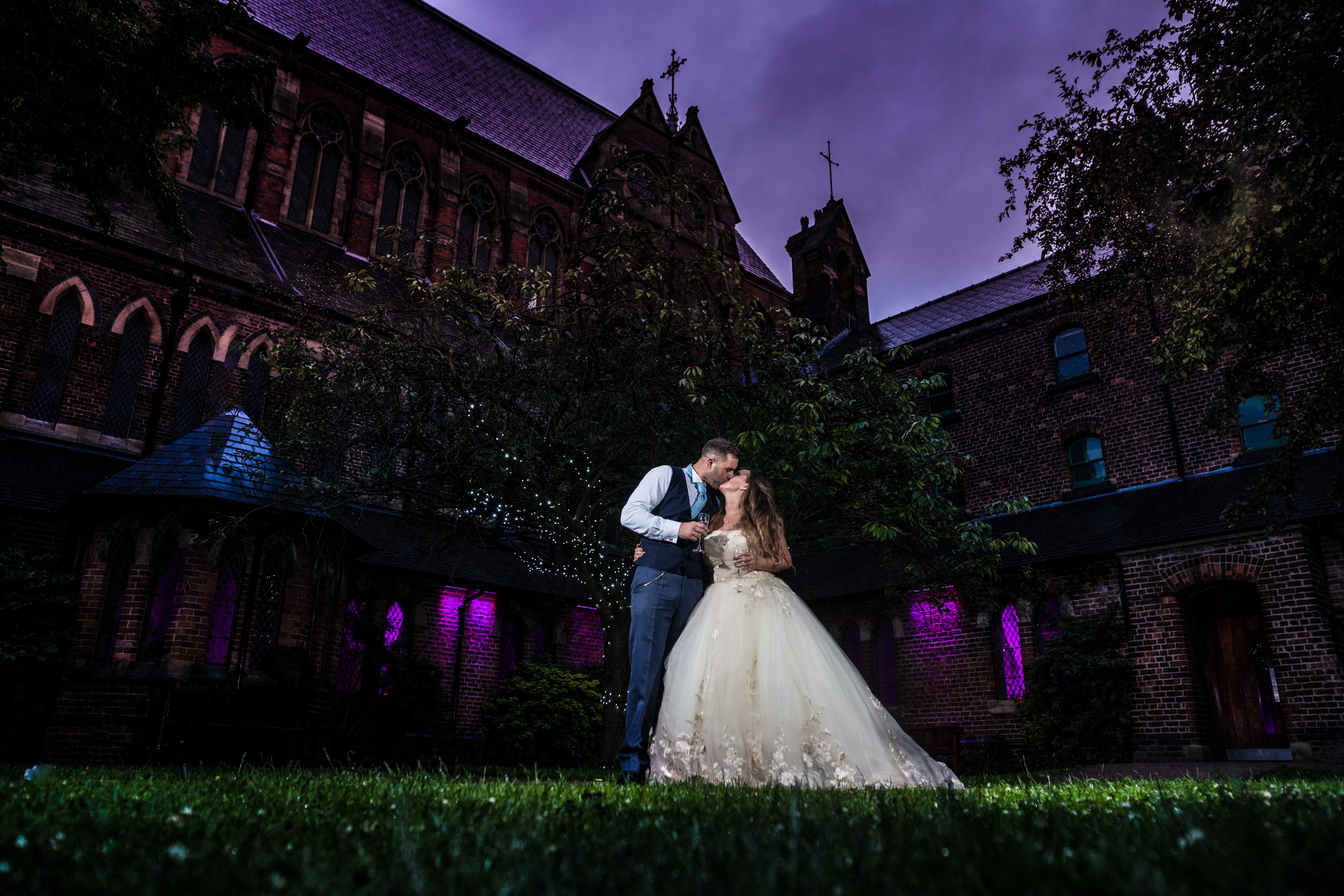 Lee and Anne Marie's wedding, Gorton Monastery, Manchester