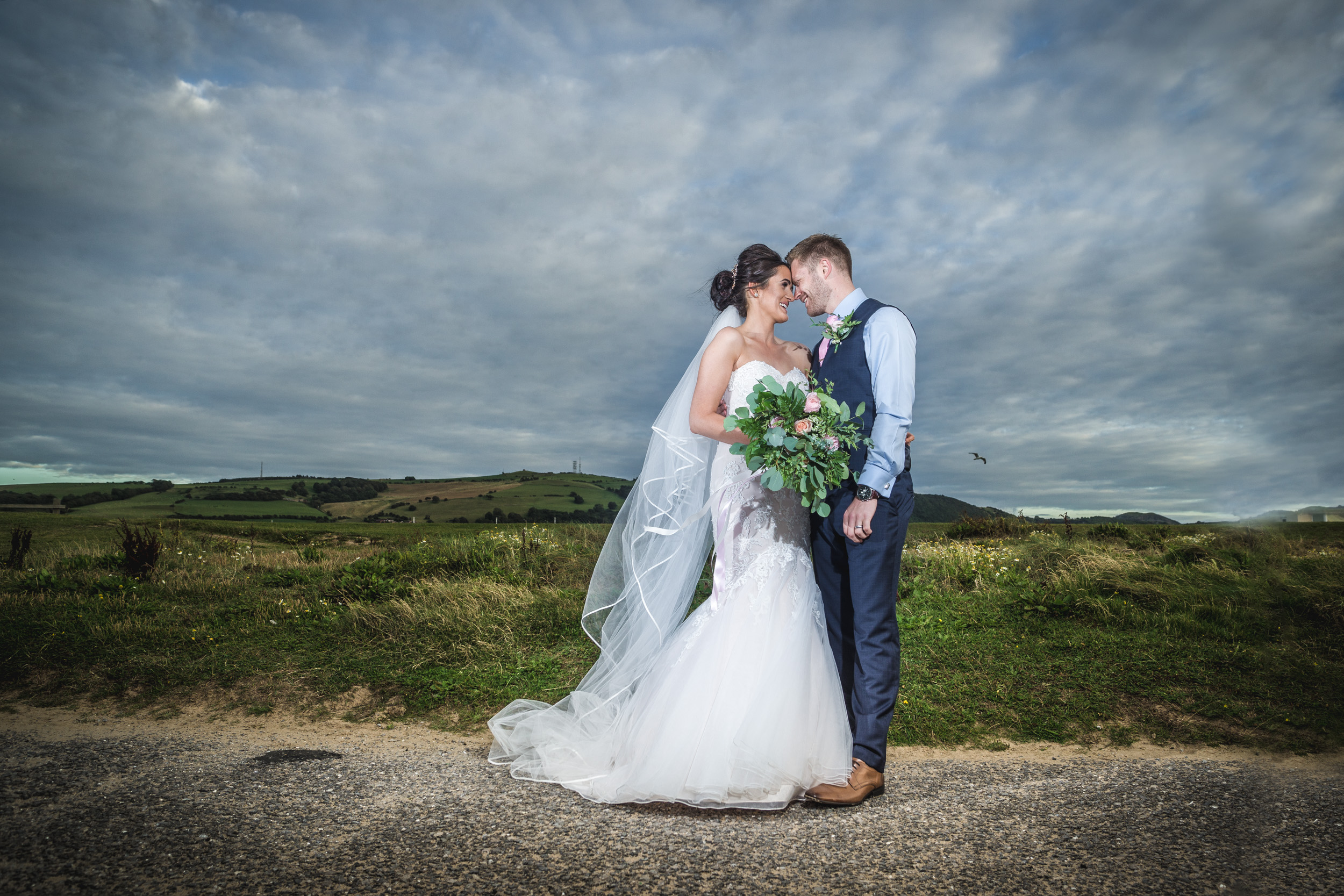 Simon and Laura's wedding, Beaches Hotel, Prestatyn