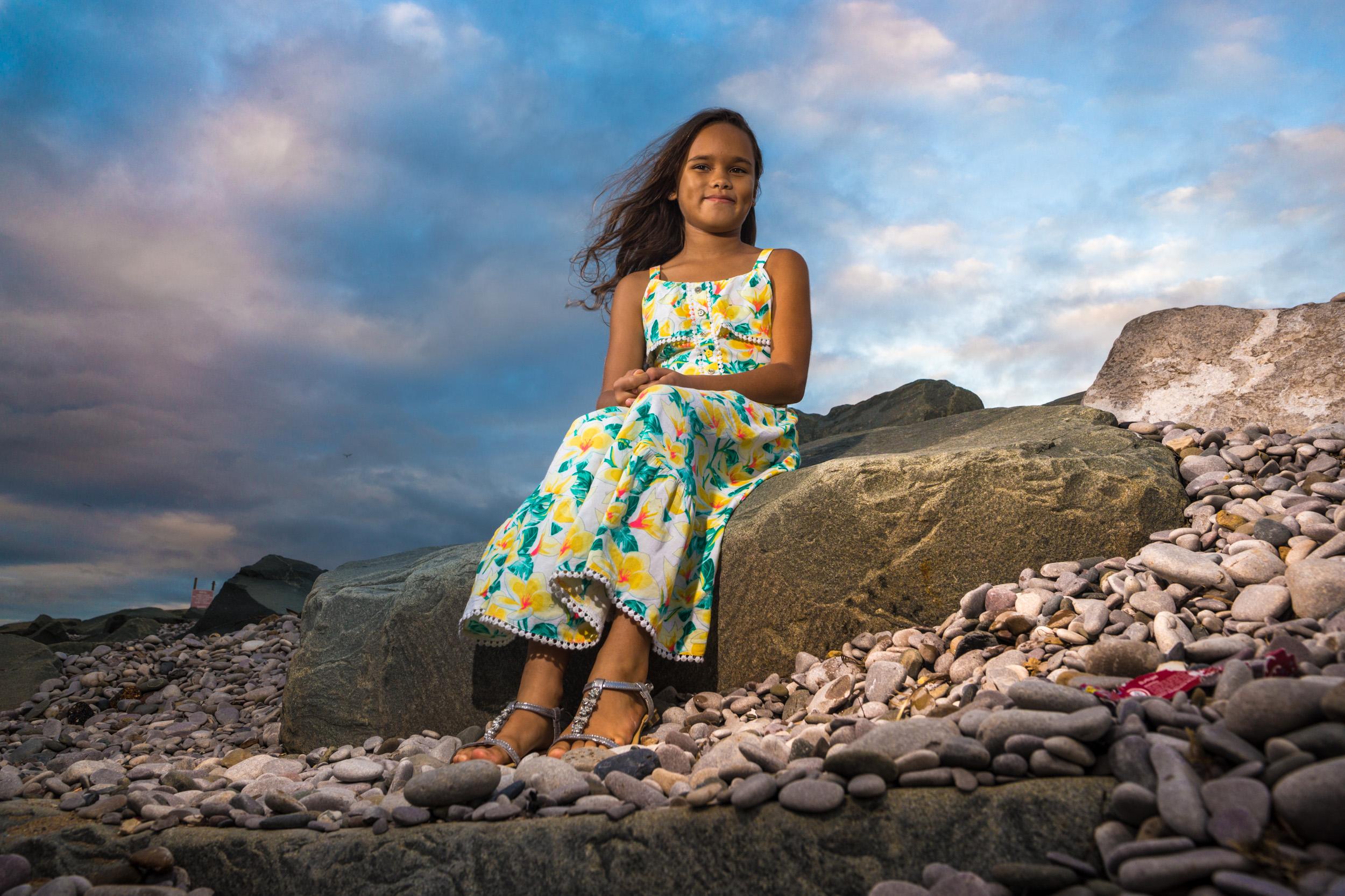 Chloe, Kinmel Bay beach shoot