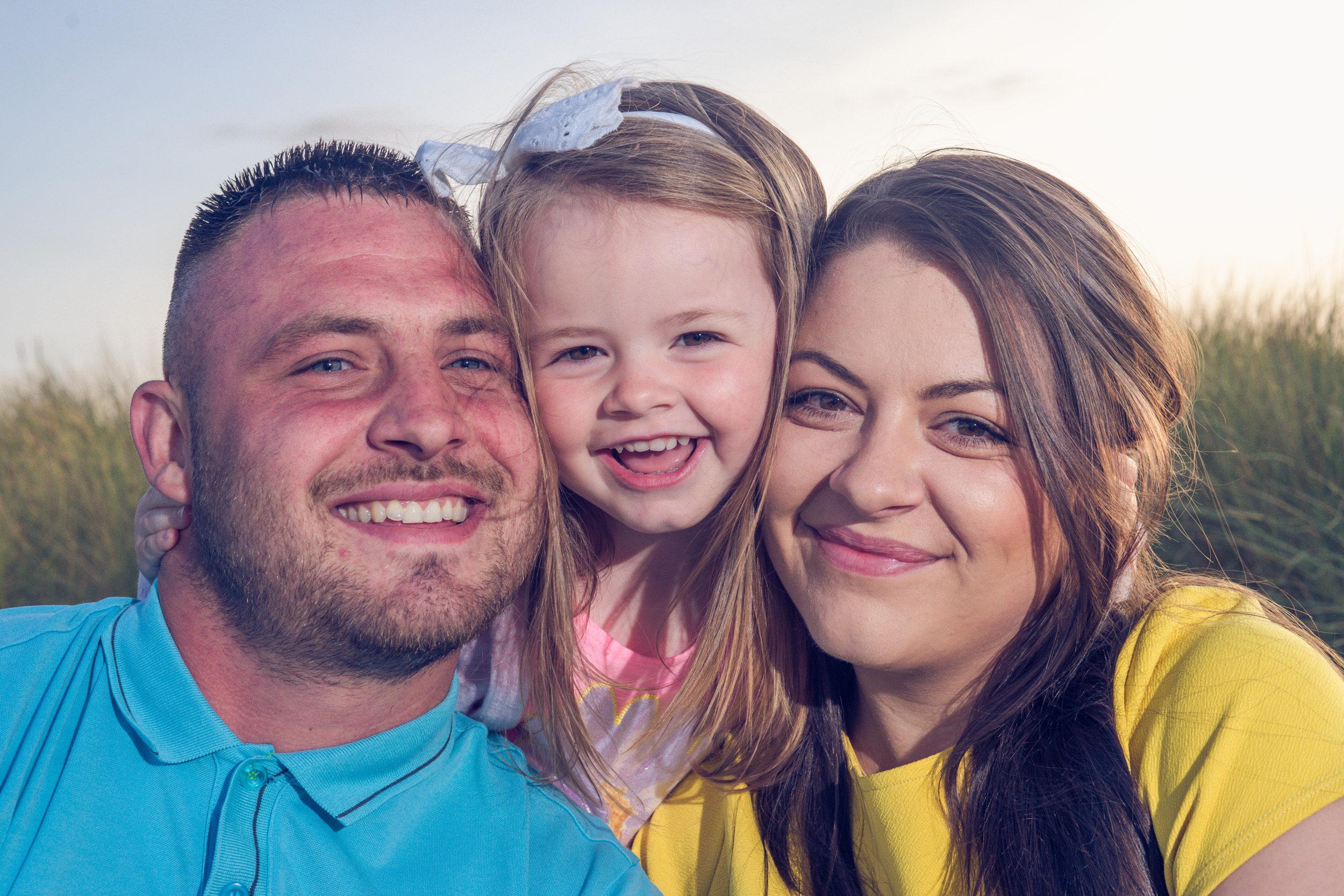 Kinmel Bay family beach shoot