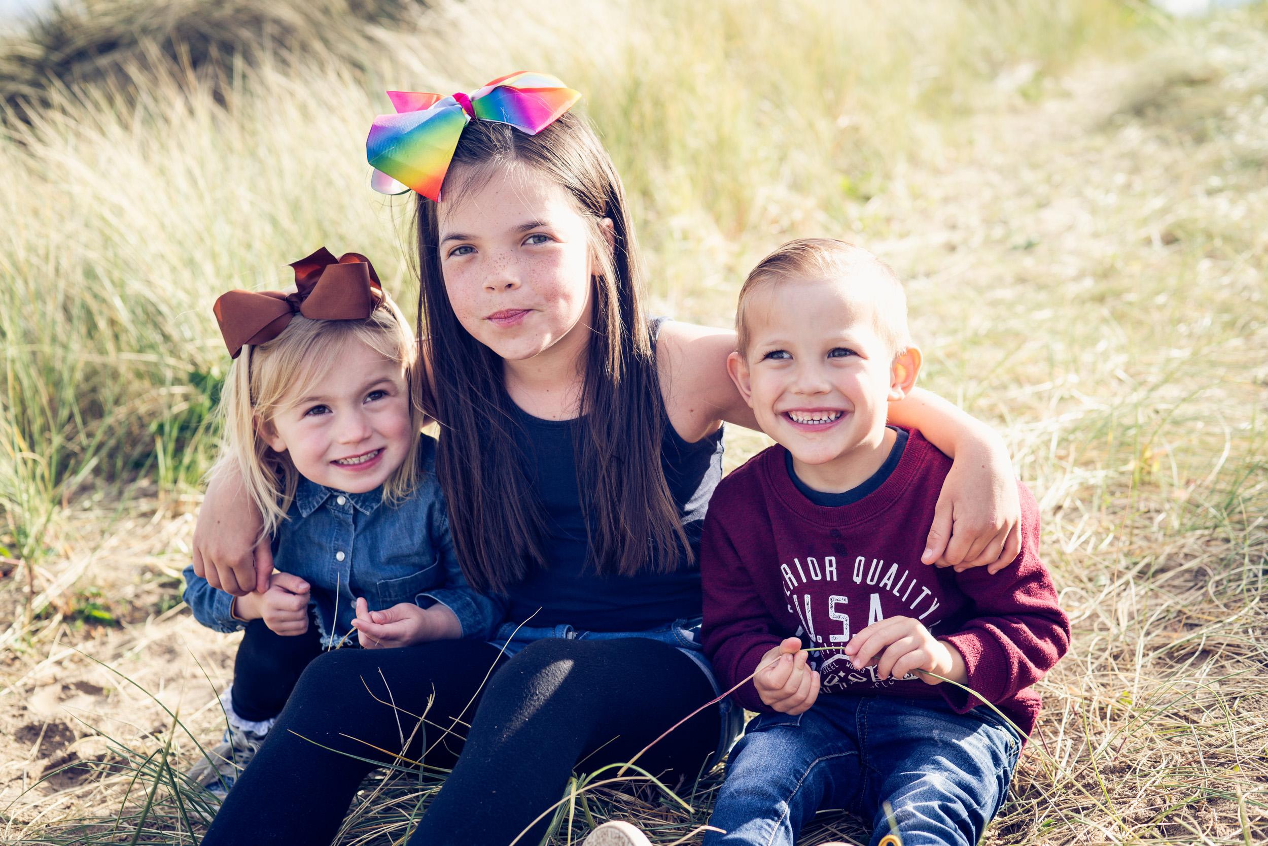 Kinmel Bay beach family shoot