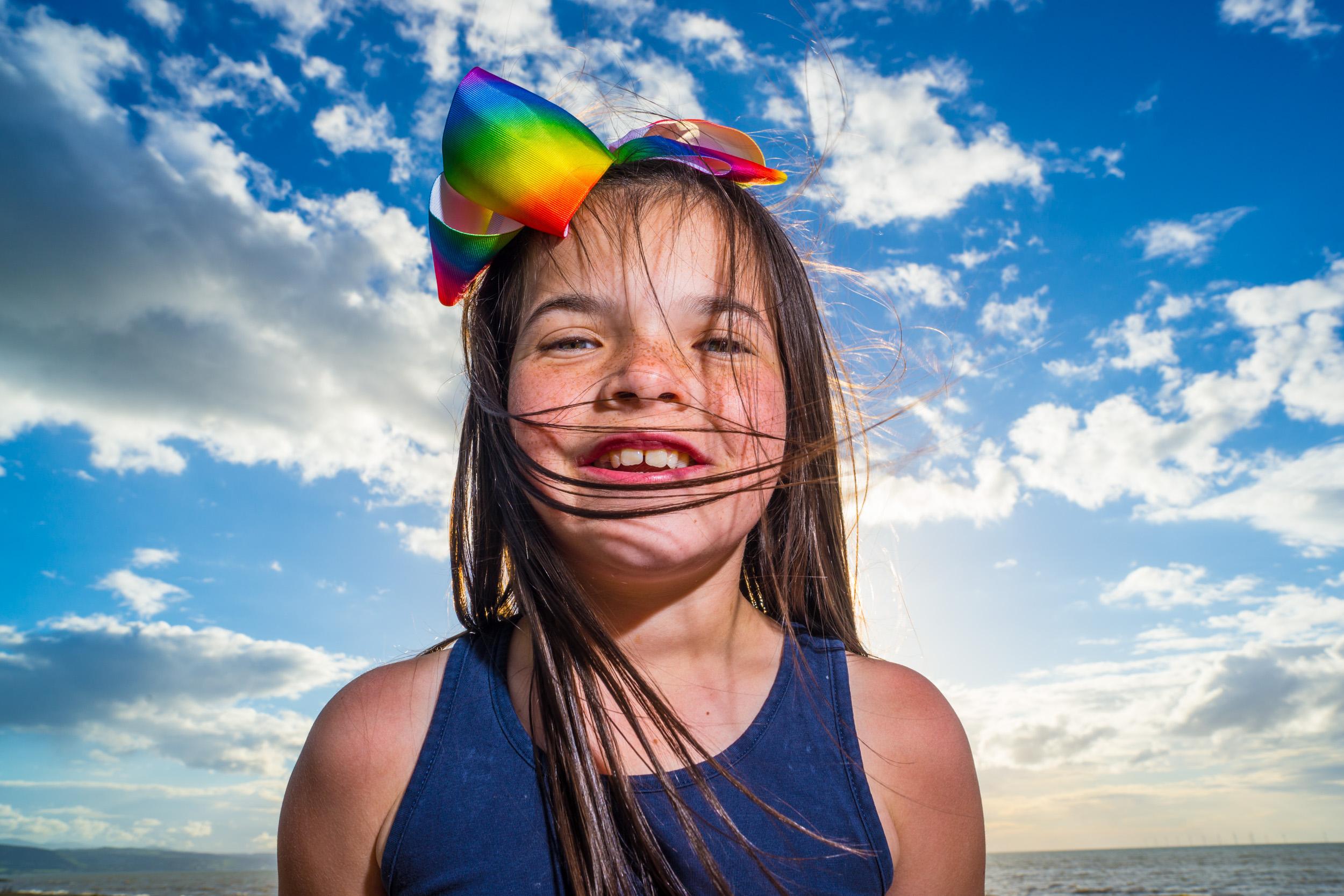 Amanda, Kinmel Bay beach, Family shoot.