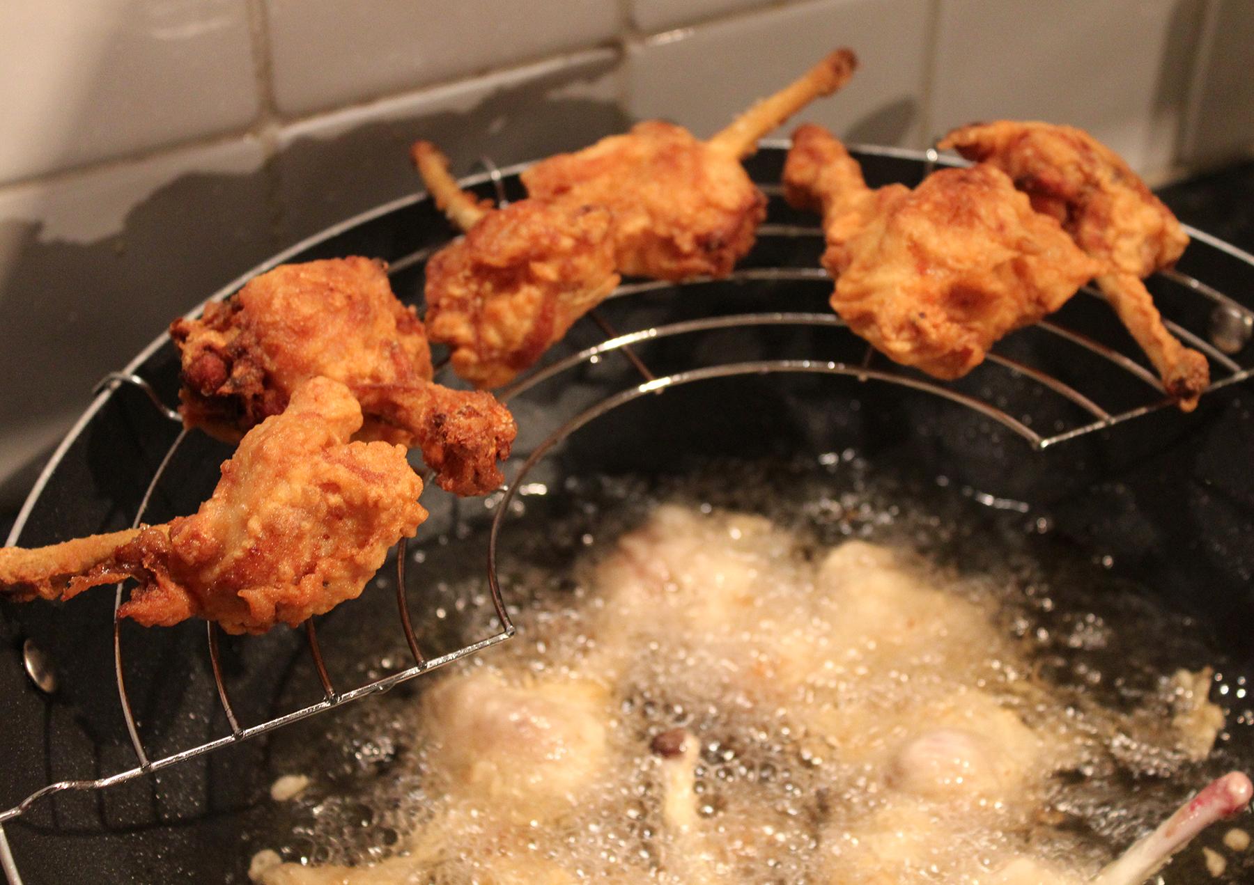 Lollipopped Fried Chicken Wings