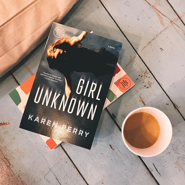 New review is up on the blog for this thriller! ❤️ Link in bio! . . thank you @macmillanusa for sending me a copy of this book and letting me be a part of this tour! 💗 . . #thriller #bookreview #review #coffee #booksandcoffee #girlunknown #bookwormforlife #bookwormlife #domesticthriller