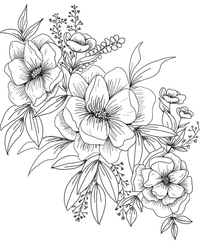 And sometimes a doodle turns into this 😍 I struggle with finding time to just draw like I used to. So the fact that I did that and drew THAT... well let's just say I should draw just for fun more often! I'll just leave this botanical line drawing right here.  FUN FACT: This is actually how I started in the industry. I actually couldn't watercolor for crap. My first invitations I ever created I drew 130 floral illustrations on them... with my dip pen 🙄 I had just learned about letterpress & foil stamping but this invitation called for texture & color and I had no idea about thermography. So I drew every single illustration 🤦🏻‍♀️😬 So tip of the day: do what you can with what you have but don't stop learning! Every artist starts somewhere and I've honestly shocked myself with how far I've come in the past couple years. So if you're just starting out, keep going, you've got this 😘👌🏼 And for other creatives who are too busy doing client work, don't forget to create just for fun! We all need that palette cleanse every once in a while 😉 • • • • #floralsyourway #floralillustration #flowersofinstagram #instaflowers #digitalillustration #flowerstagram #flowerillustration #botanicallinedrawing #flowerart #florals #floralartwork #illustrator #illustration #botanicaldrawing #ipadpro #stationerydesigner #weddinginvitationdesigner #customstationerydesigner #customweddinginvitationdesign #customweddingstationery #customweddingstationary #weddingpaper #weddinginvitations #weddinginvitation #floraldesign #procreateapp #botanicallineart #floralsbyhand #ipadart