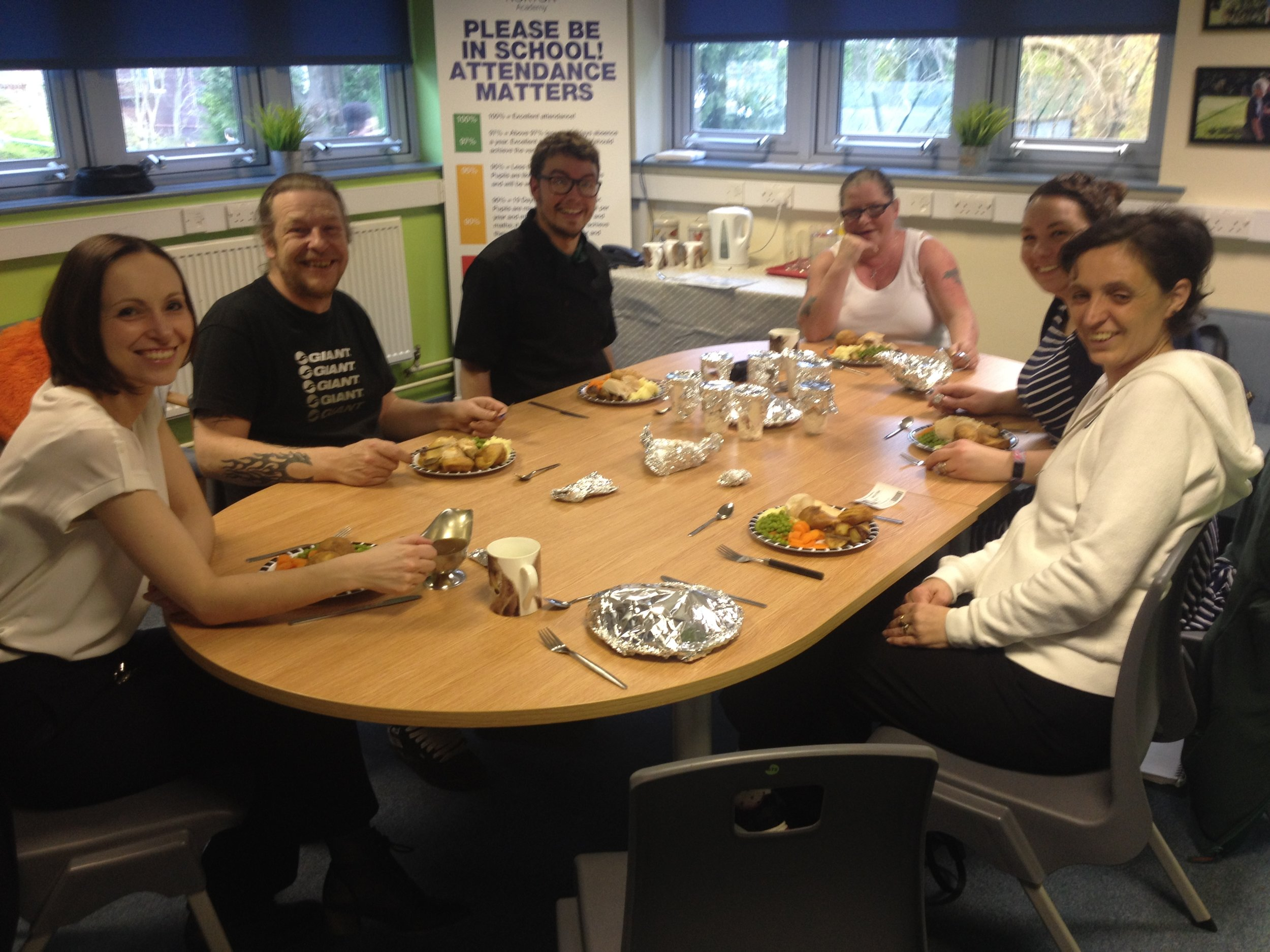 Parent Lunch - Testing our new school dinners!
