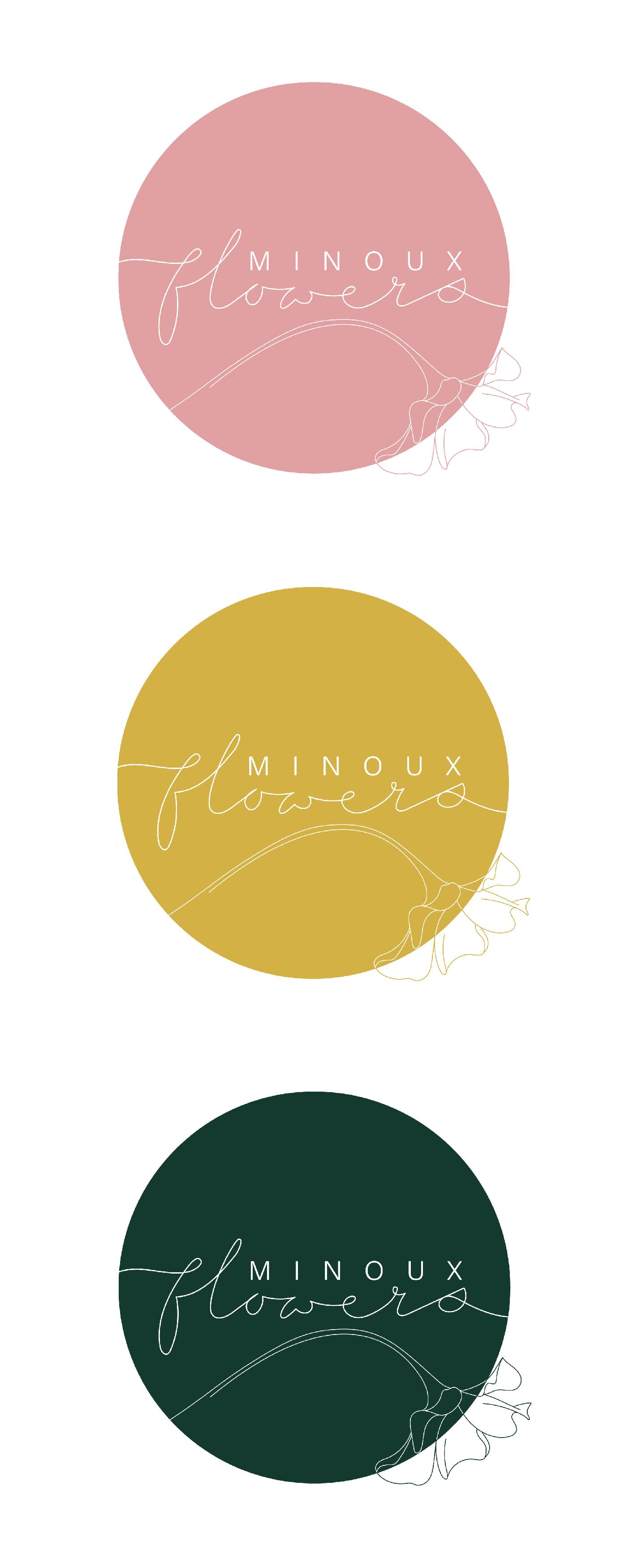 Minoux Flowers Branding