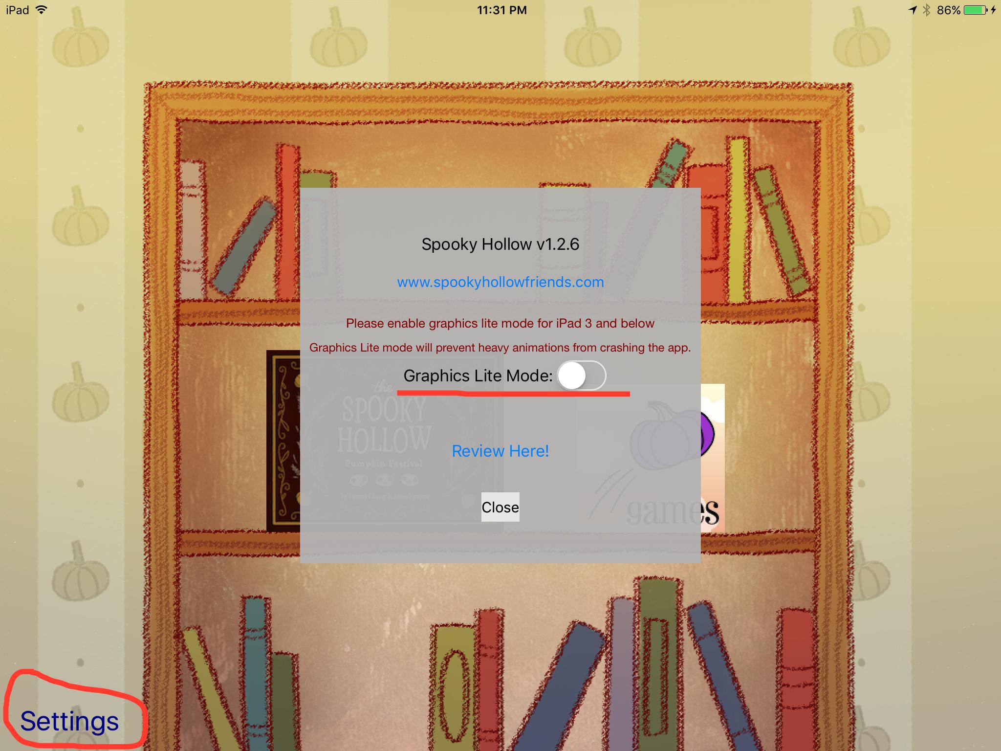 Enabling/Disabling Graphics Lite Mode