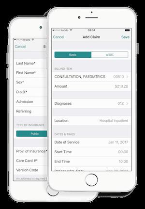 MSP Billing App for iPhone
