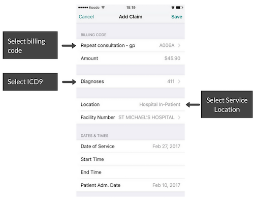 Mobile Billing App - How to Add a Claim 1 .png