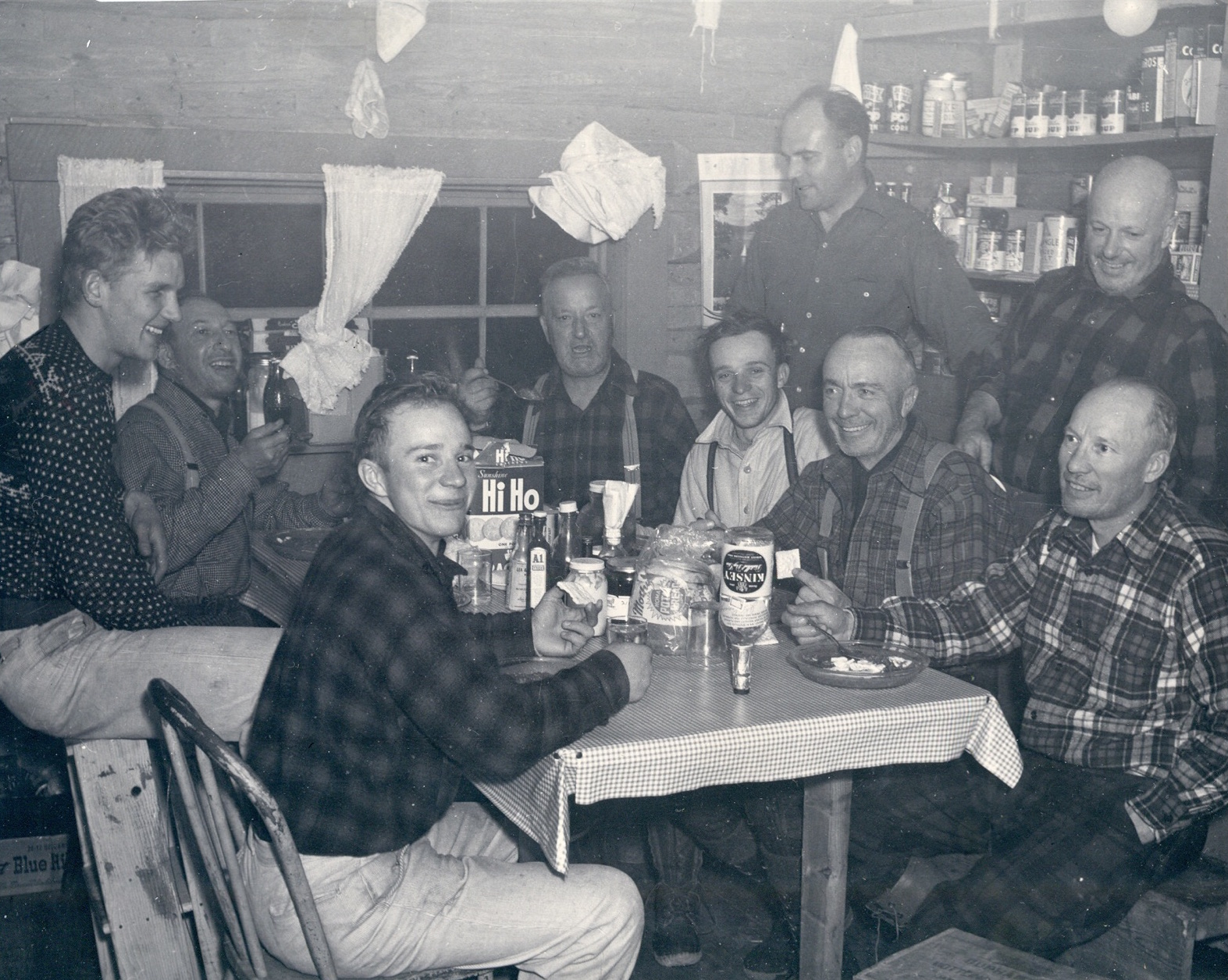 POST HUNTING  |  MY GRANDFATHER AND GREAT GRANDFATHER {middle two on right}