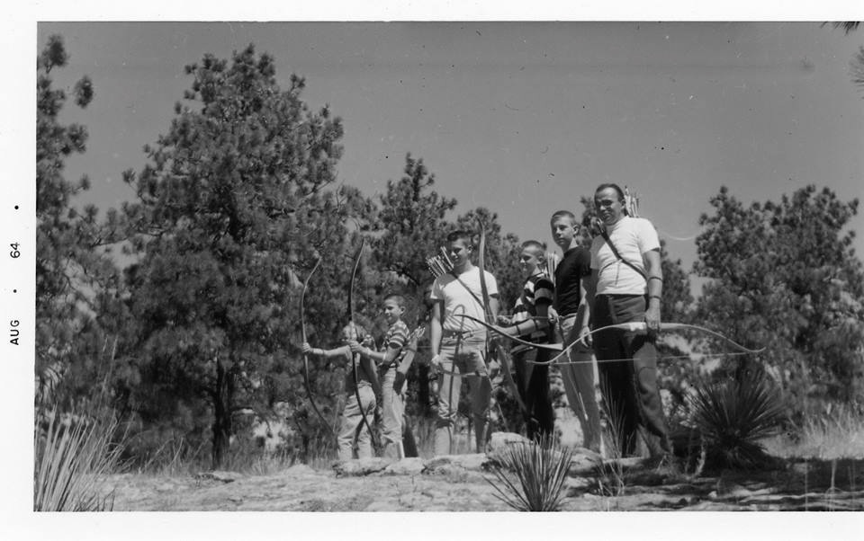 MY DAD, UNCLES AND GRANDFATHER  |  BILLINGS ARCHERY RANGE