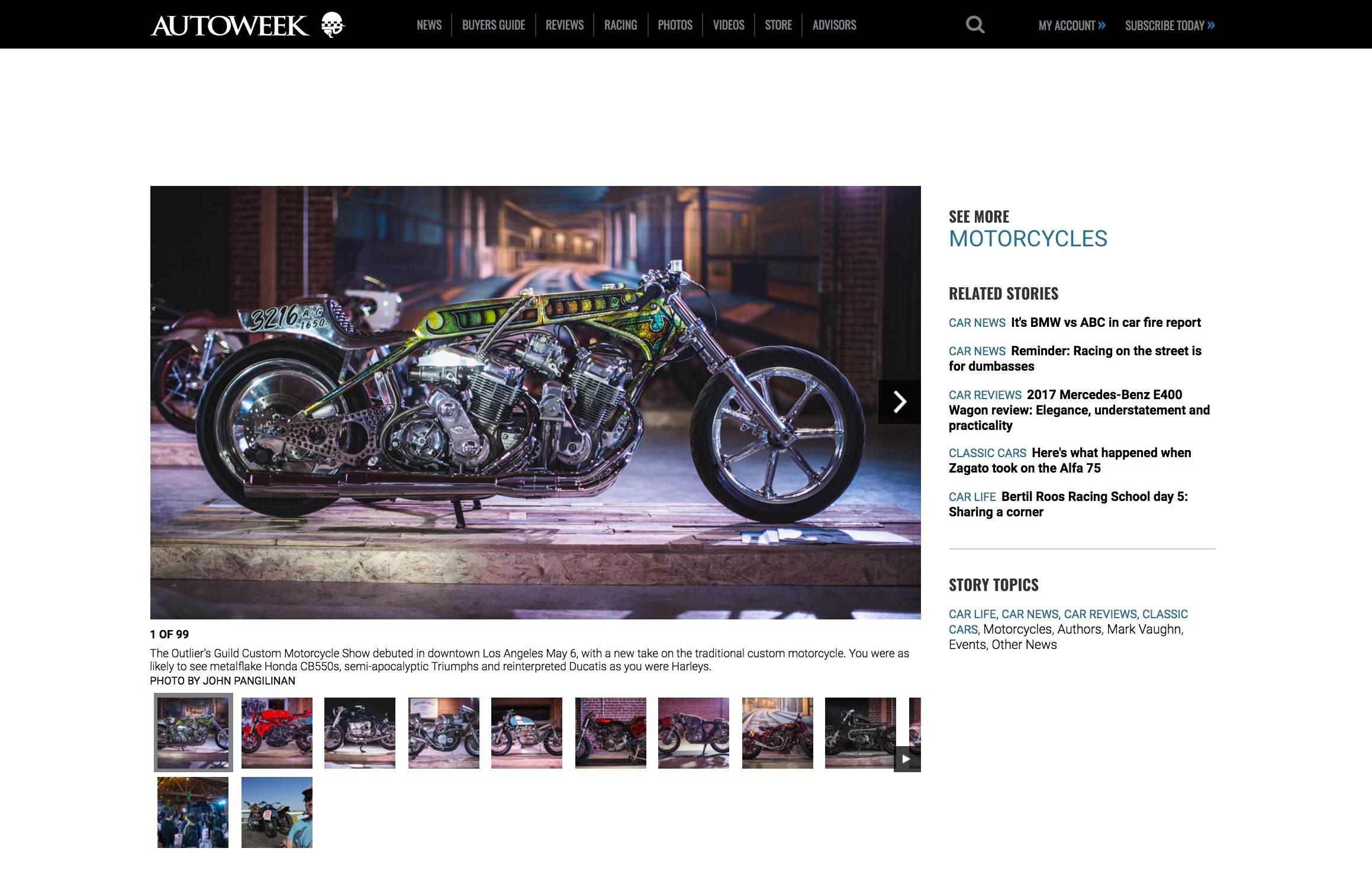 Featured on Autoweek