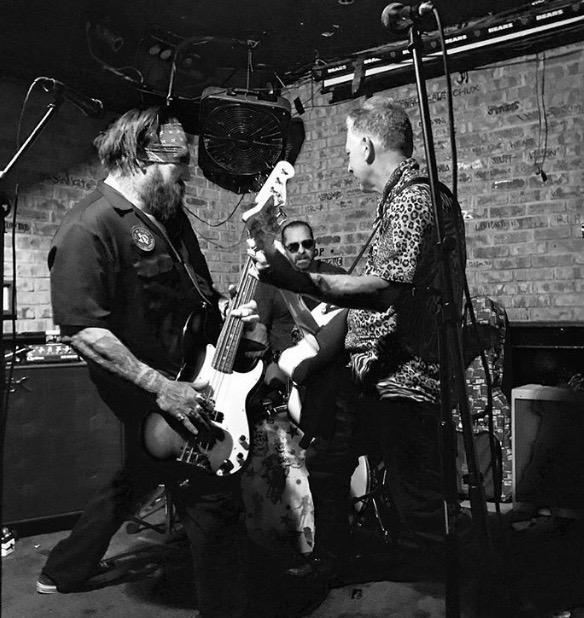 POWERFLEX 5 - Powerflex 5 featuring skateboarding legend Steve Alba on guitar, tattoo artist Corey Miller on drums, and Bobby Abarca on bass.