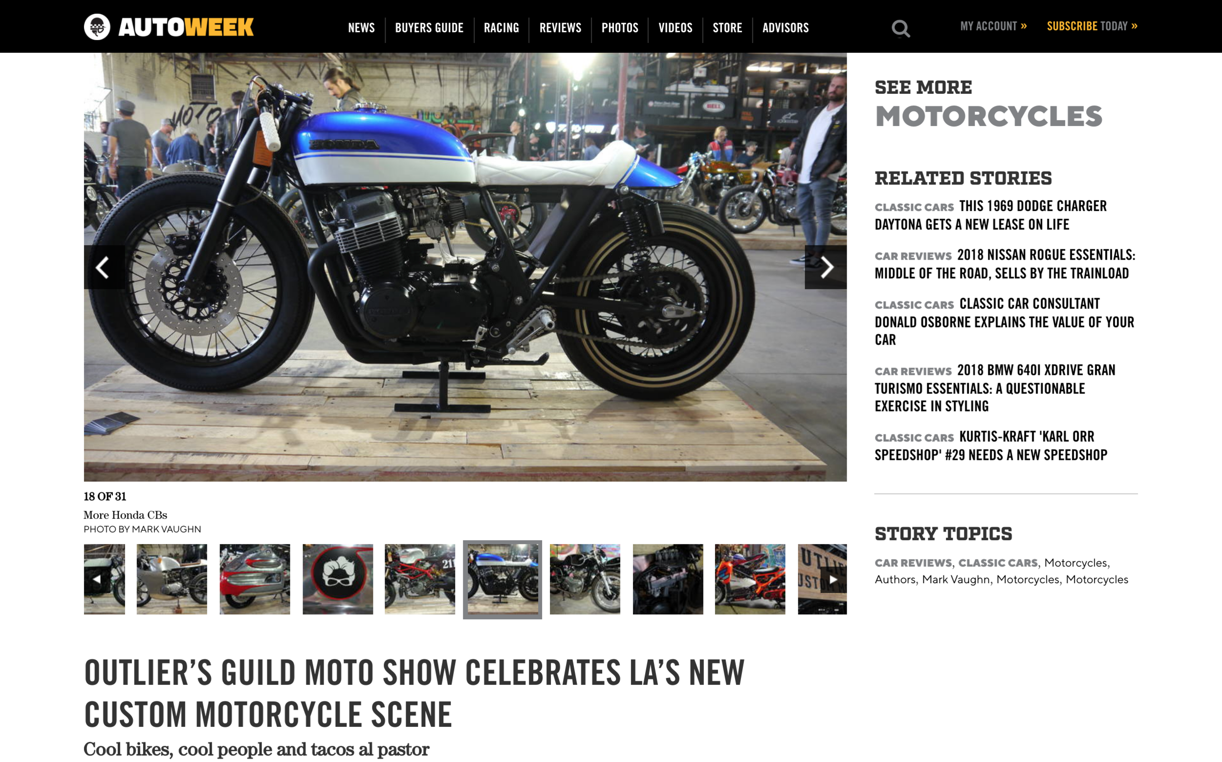 Featured in AutoWeek