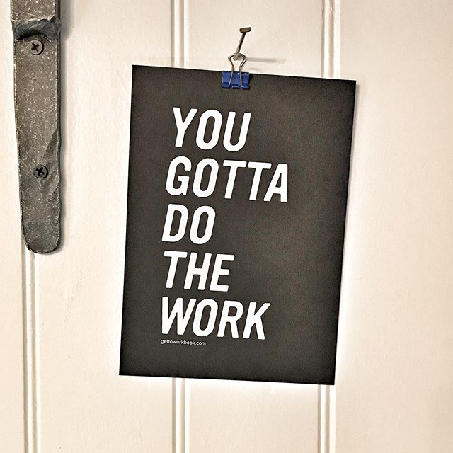 I enjoy when others share pictures of their daily lives so here's bit from mine. I've spent more hours behind a desk in the past year and thought 2018 would have a less demanding schedule. That hasnt happened and this sign is a great reminder to do what it takes every day. And I'll share a few essentials for me in work life: my get to work planner, an advisor from Anabaptist Foundation, the WhenIWork scheduling app, something encouraging on my desk- a note or picture - currently it's peonies, and a secretary who makes data entry and reconciliations look effortless.