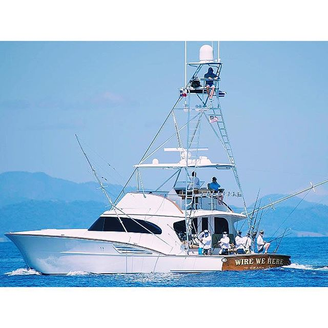 Congratulations to Captain Scotty Jones and his team Wire We Here for winning the Los Suenos Triple Crown Billfish Tournament today!  With 17 sailfish and 6 marlin releases for a total of 4,700 points in Leg 1 of the series! 🔁Regram; @elitesportfishing  #garlingtonyachts #sportfishing #teamwirewehere #lossuenostriplecrown #billfishtournament #elitefleet #fishcostarica @lossuenosresort