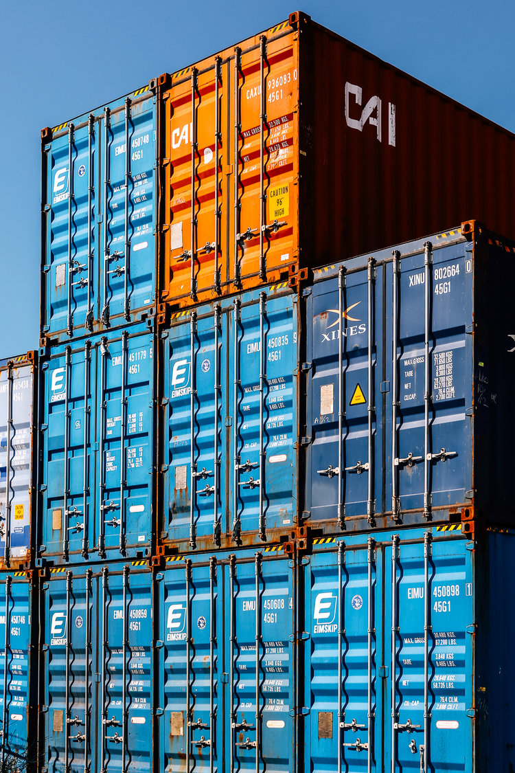 Eimskip Containers at the International Marine Terminal. Justin Levesque © 2016