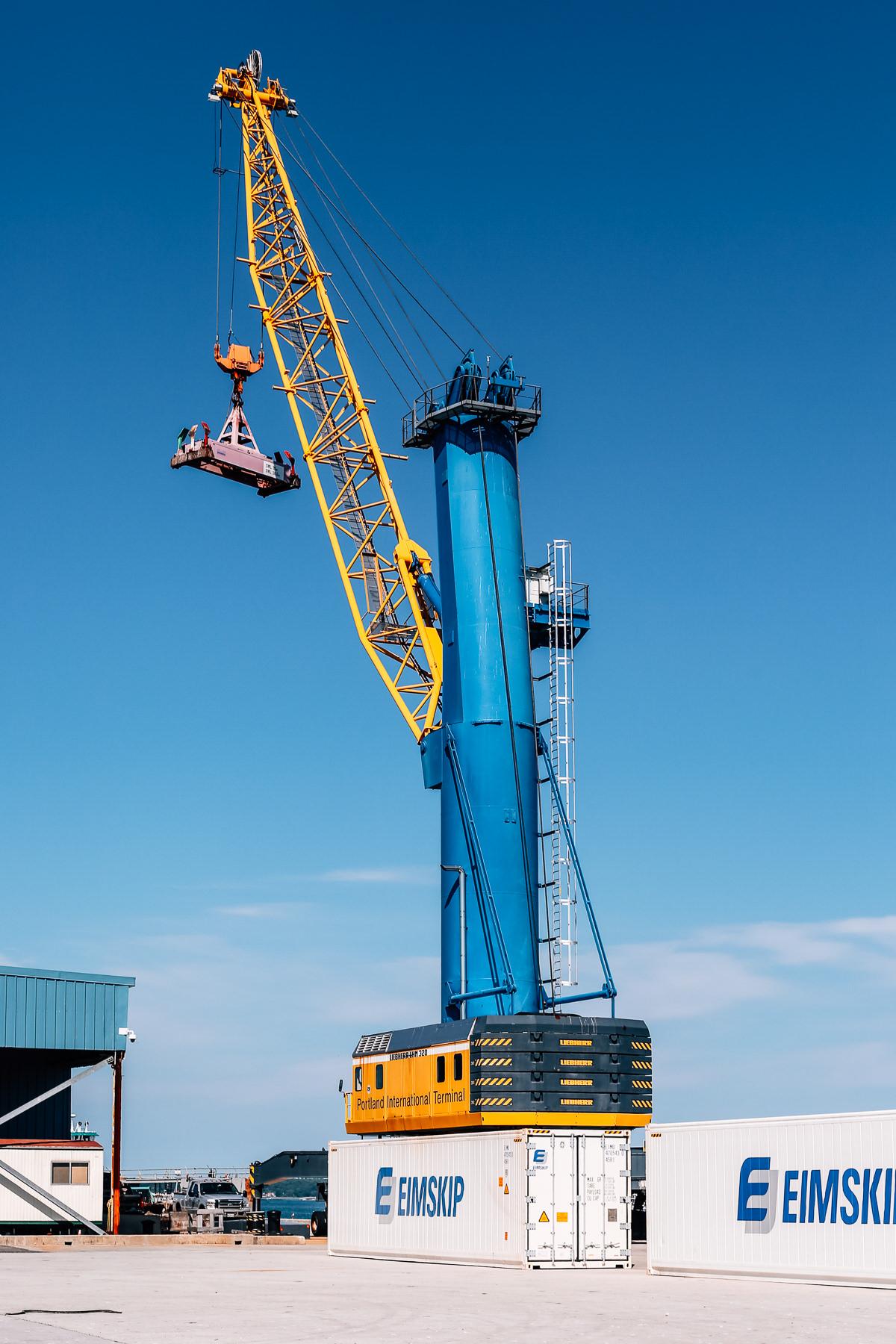 The Crane at the International Marine Terminal. Justin Levesque © 2016