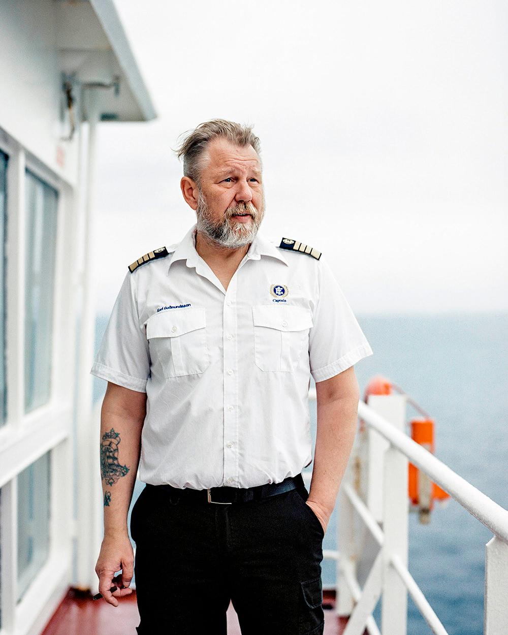 Captain Karl 'Kalli' Guðmundsson