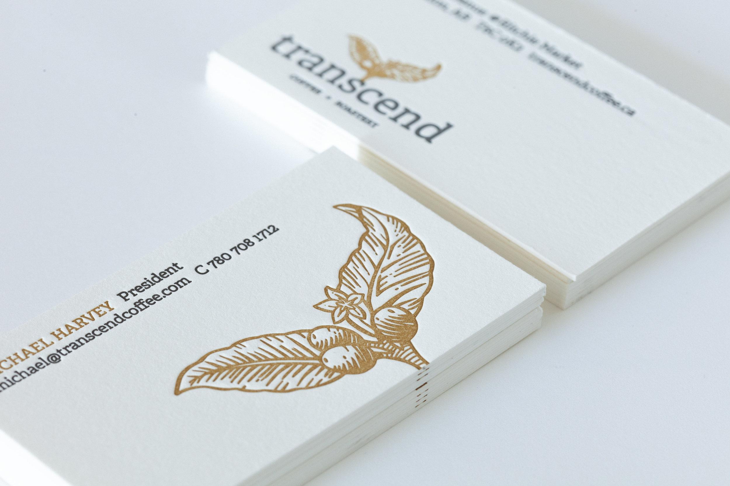 Transcend Business Cards