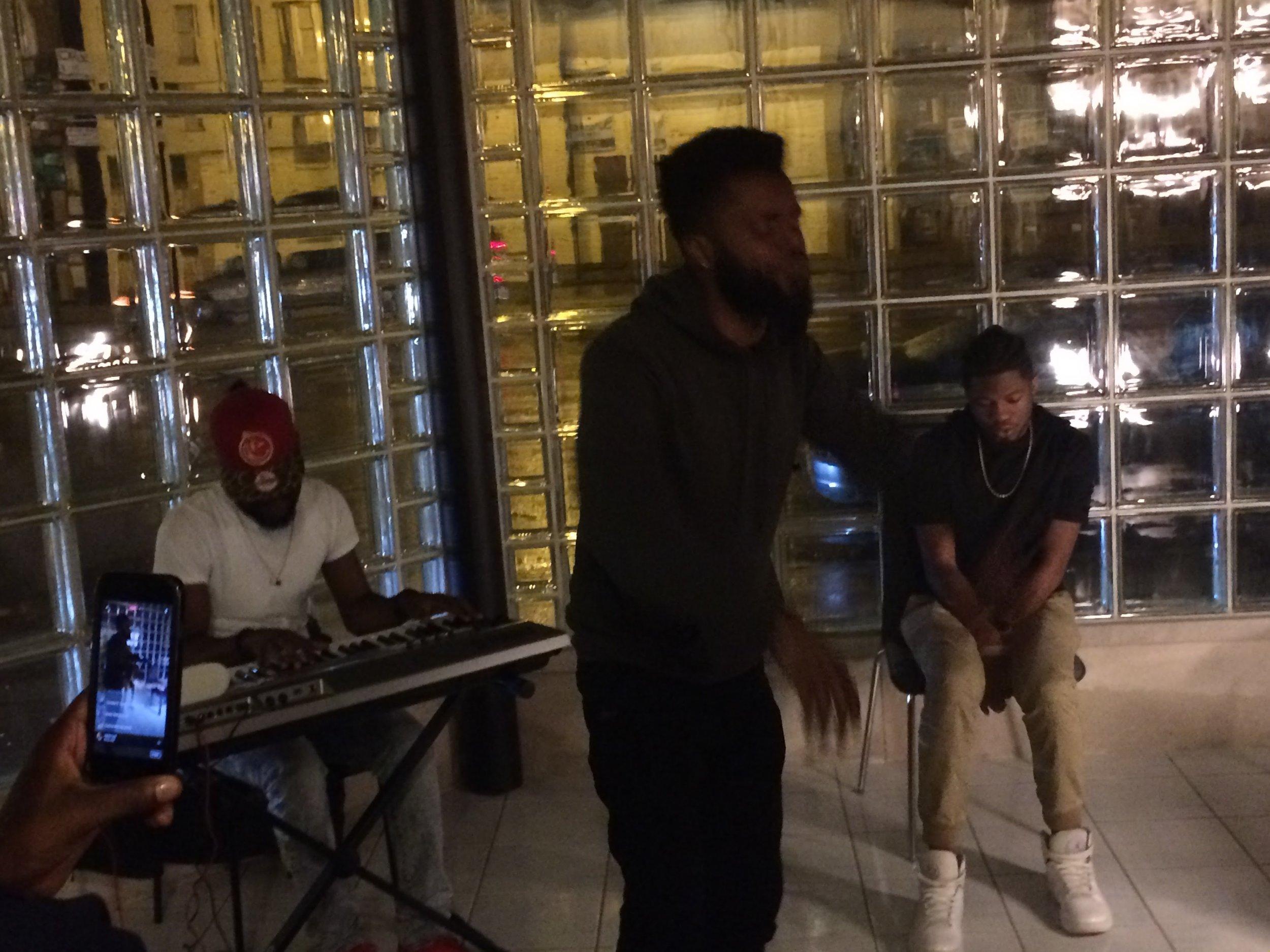 R.O.E. performs