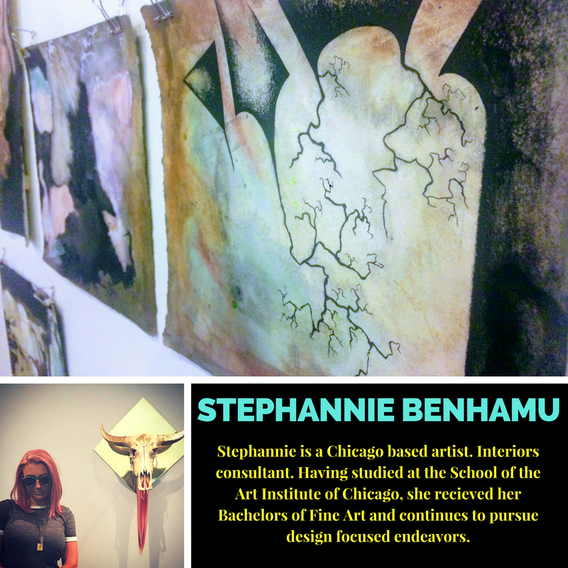 Featured artist  Stephannie Benhamu .