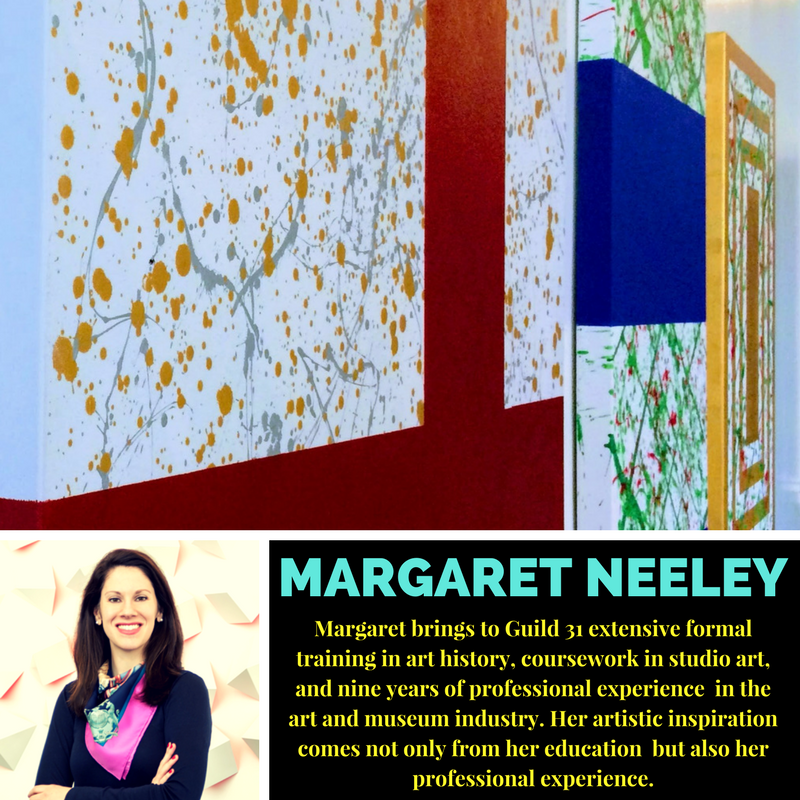 Featured artist  Margaret Neeley .