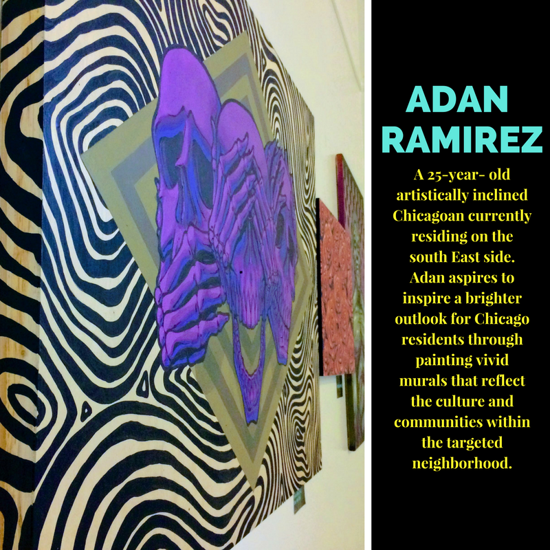 Featured artist  Adan Ramirez .