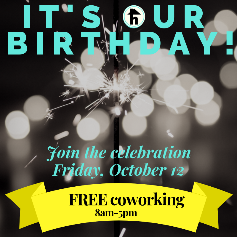 birthday free coworking