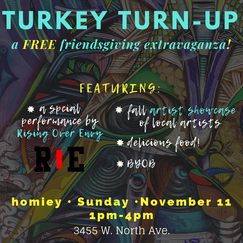 turkey turn up