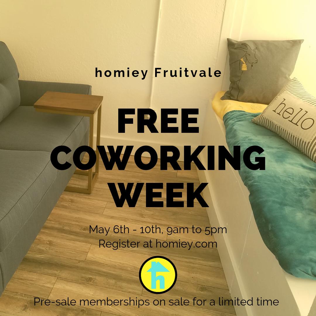 free coworking week