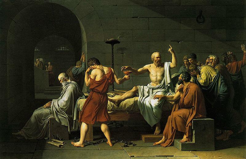 David: Death of Socrates
