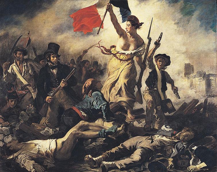 Delacroix: Liberty Leading the People