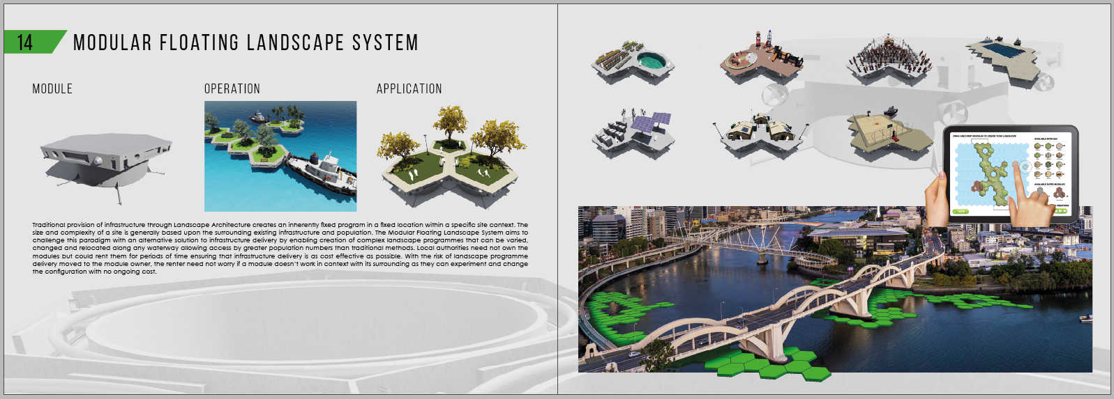 Steve Niven | Modular Floating Landscape System