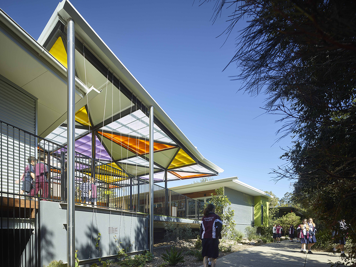 Junior School, Kimberley College by Guymer Bailey
