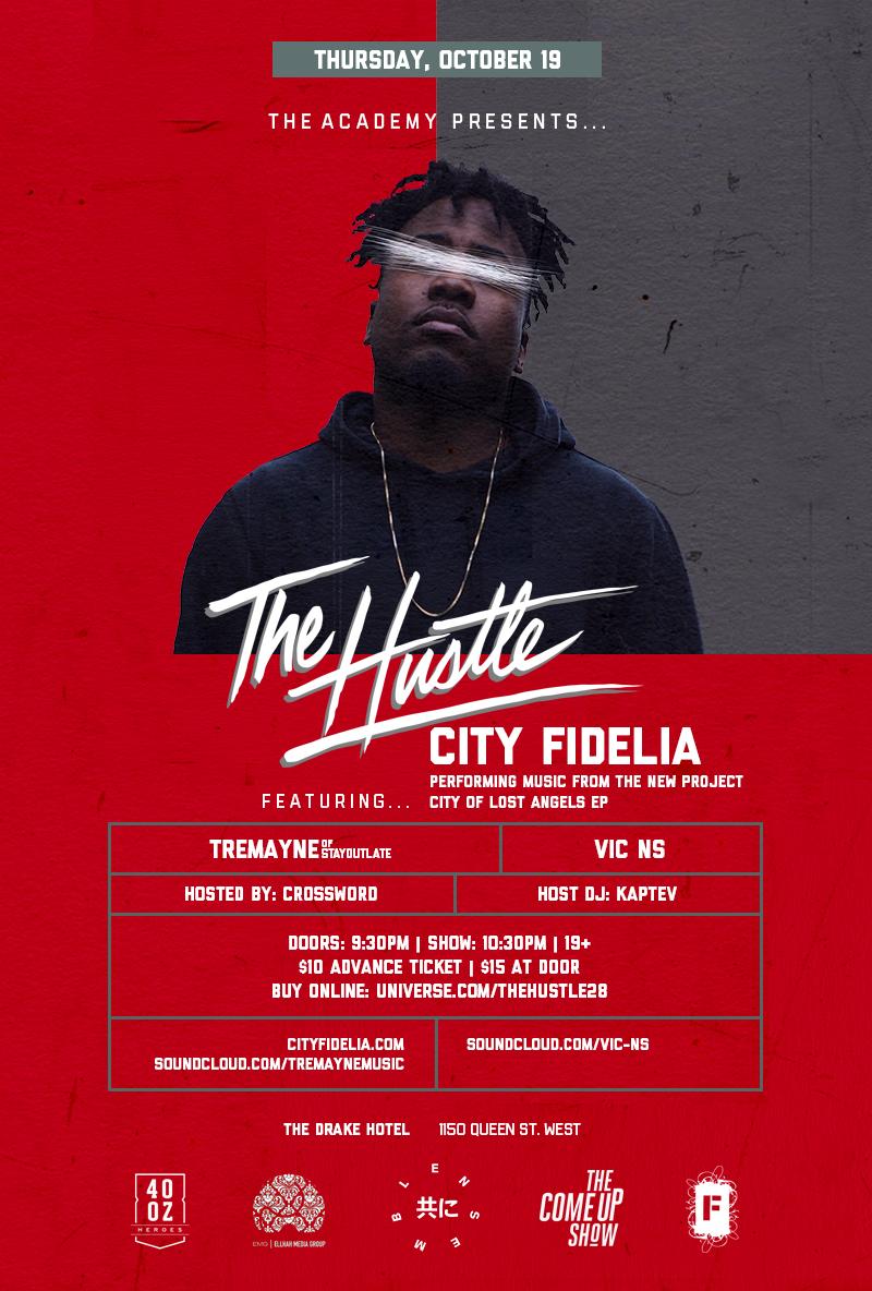 The Hustle Event - City Fidelia