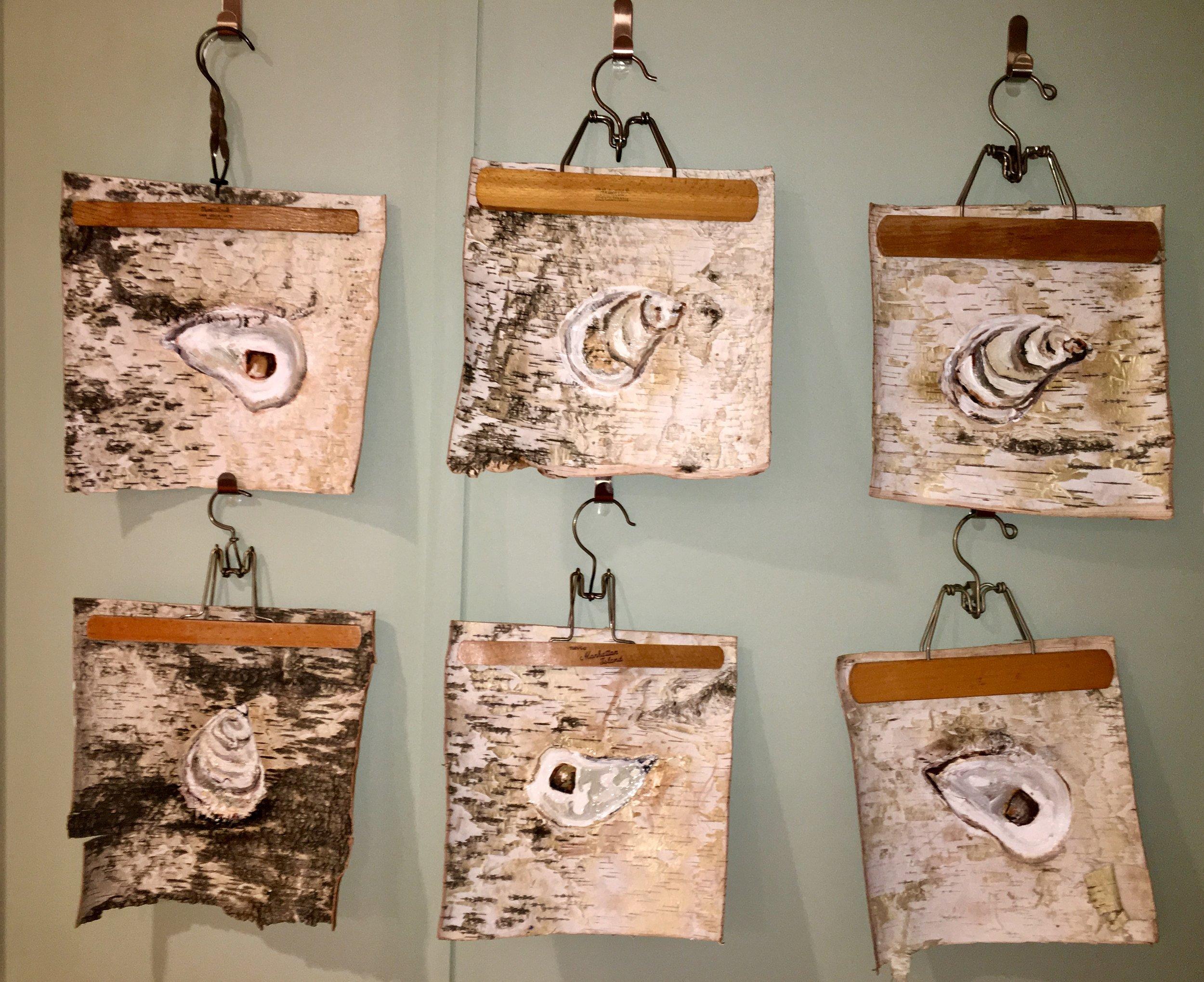 Oyster on Birch Series