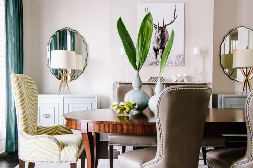 DC dining room by Alison Giese Interiors