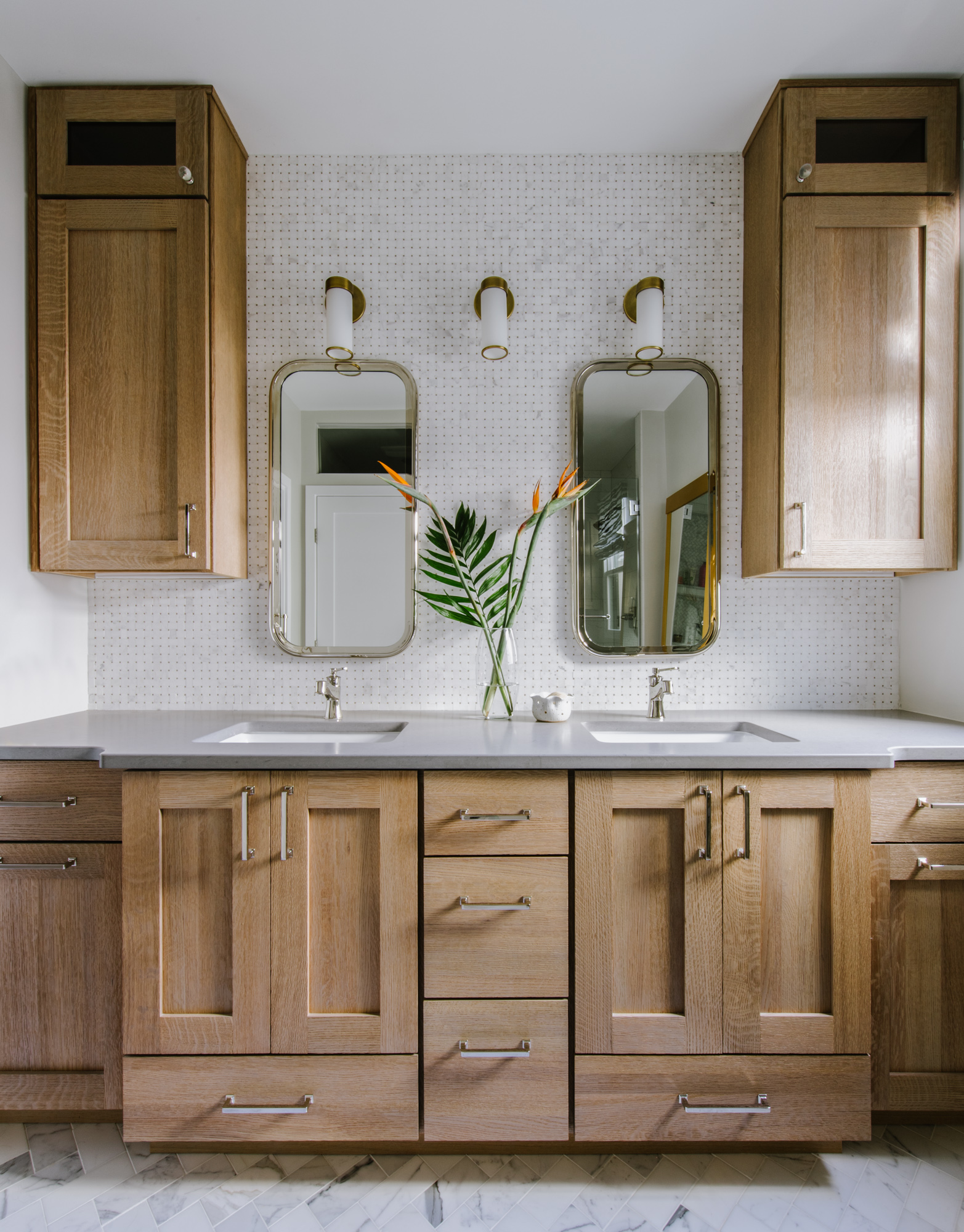 DC Master bath renovation by Alison Giese Interiors