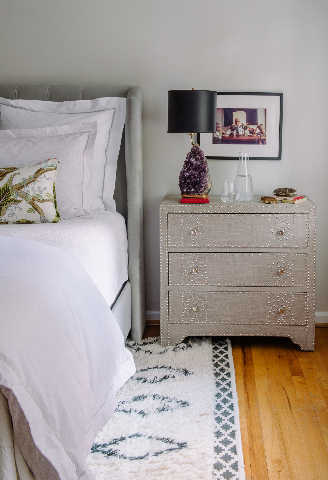Bedside table by Alison Giese Interiors