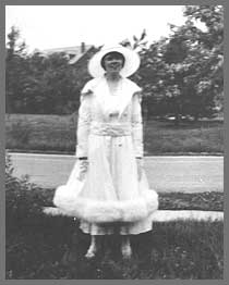 A Pershing resident circa 1923.  --From the Parkview archives.